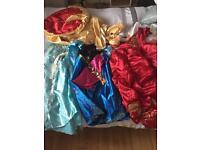 7-8 girls Princess dresses
