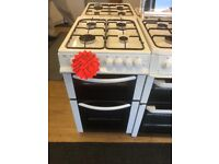 BUSH 50CM ALL GAS COOKER IN WHIRE
