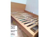 Standard Double Bed Frame without slats