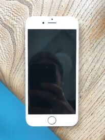 iPhone 6 White, Perfect Condition, 16GB, charger and headphones included.
