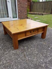 Large Pine cofee table