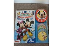 Disney Story Book and Mini Portable Music Player