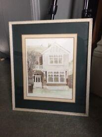 Small painting framed/ original