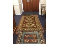 Vintage Turkish rug.