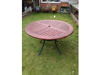Round Solid Teak Garden/Patio table