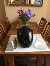 UVEX Motor Cycle Helmet - Size L