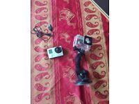 Go Pro Hero 3 Silver + 8GB Sandisk Ultra micro SD