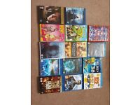 Great Selection of DVD's, Blu rays. 3D blue rays and 3D blue rays ultraviolet
