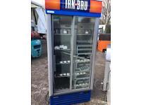 Irn Bru 2 door sliding drinks fridge