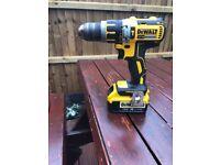 Dewalt Brushless Hammer Drill with battery