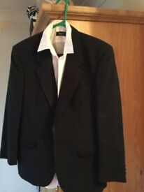 Dinner suit with two shirts in as new condition