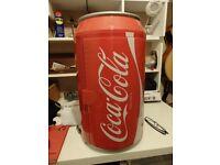 Mini fridge. Coke can shape