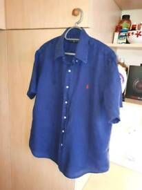 Ralph Lauren Mens short sleeve shirt Large