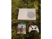 Xbox one s with 6 games