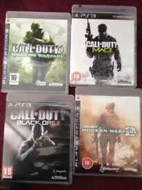 Call of duty games