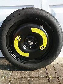Audi Q3 Spare Wheel R18 ( Continental Tyre)