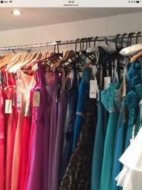 Designer evening dresses bundle