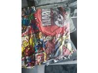 Marvel curtains and bedding set