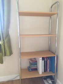 Tall shelving stand