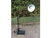 VINTAGE ANGLEPOISE DESK LAMP BLACK