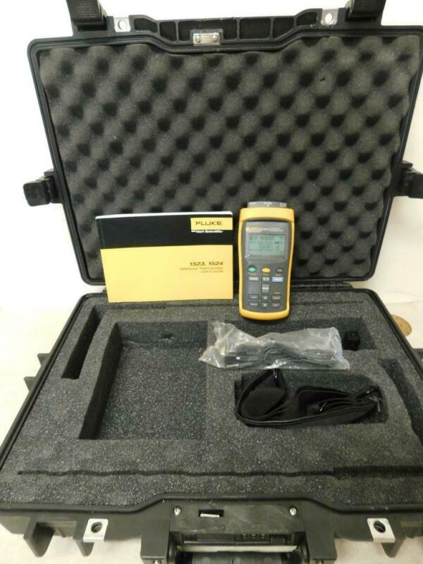 Fluke 1523 Reference Thermometer-One Channel
