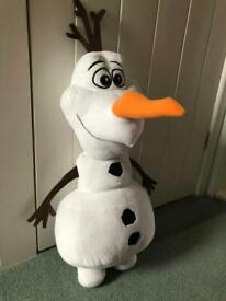 Official Disney Frozen Olaf the Snowman 67cm (tall) - Immaculate Condition