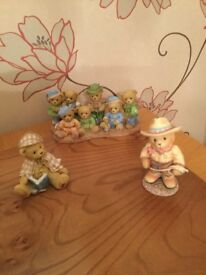 Cherished Teddies - group of 3