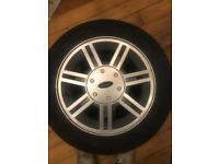 Ford fiesta mk5 alloy wheels
