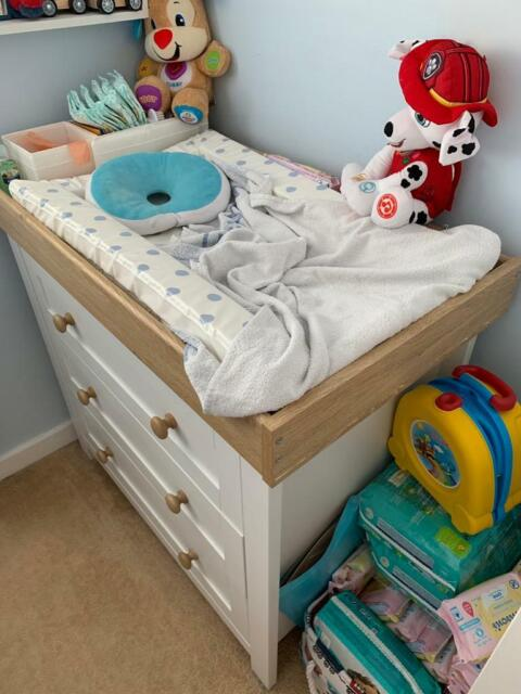 Mothercare Lulworth 3 Piece Nursery Furniture Set Clic White In Ayury Buckinghamshire Gumtree