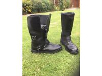 TCX Infinity Evo Boots GTX - Black motorcycle boots size 47