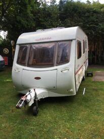 Coachman Amara 520/4 touring caravan.