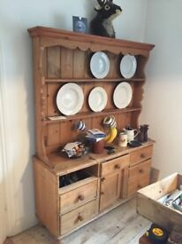Lovely Old Pine Dresser For Sale