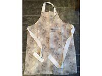 RHS floral bib apron