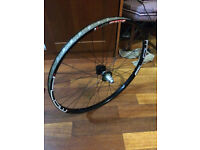 Mountain bike wheel, stans mk3 flow boost 148 x 12 on hope pro 4 hub