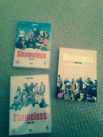 Shameless DVDs bran new