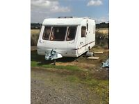 2004 swift charisma 4 berth fixed bed in very good condition