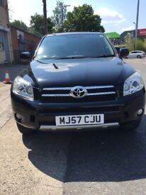 Toyota RAV4 , 20 petrol, 2008,low milage only 74000call 07547570469