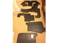 Full set of floor mats for Discovery 3/4