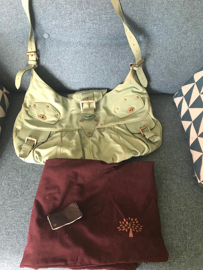 5aa79a637e ... usa authentic large mulberry joni handbag messenger pistachio 7cd2e  9b6b9