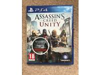 PS4 game Assassin's creed unity