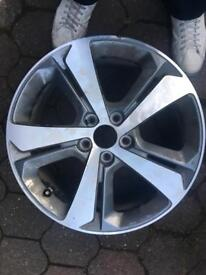 18 inch Peugeot 308 alloy