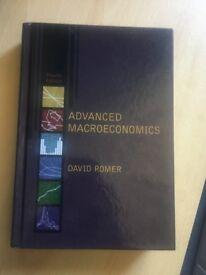 Advanced Macroeconomics, David Romer