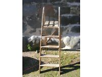 vintage step wooden step ladders