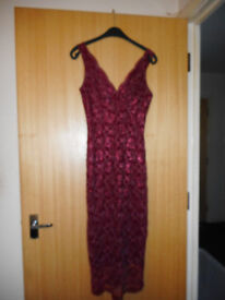 Christmas Party Select Red Dress Size 10