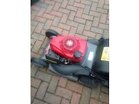 Honda hrx476qxe petrol self propelled mower not hayter