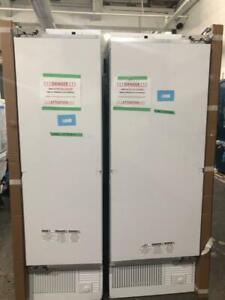 54 Combo réfrigérateur et congélateur, Custom Panels, Monogram