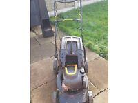 petrol mccullach lawn mower