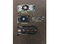 Graphics cards and sound card