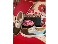 Vans size 10 mens/lads brand new & boxed