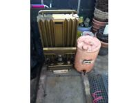 Paraffin Heater & Paraffin Storage Tin